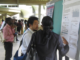 Poster sessions at the SETAC Africa meeting