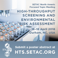 High-Throughput Screening and Environmental Risk Assessment Focused Topic Meeting